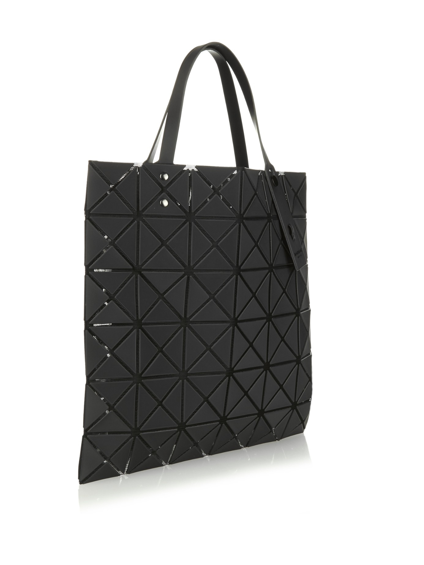 68570f85a620 Lyst - Bao Bao Issey Miyake Lucent Basic Tote in Black