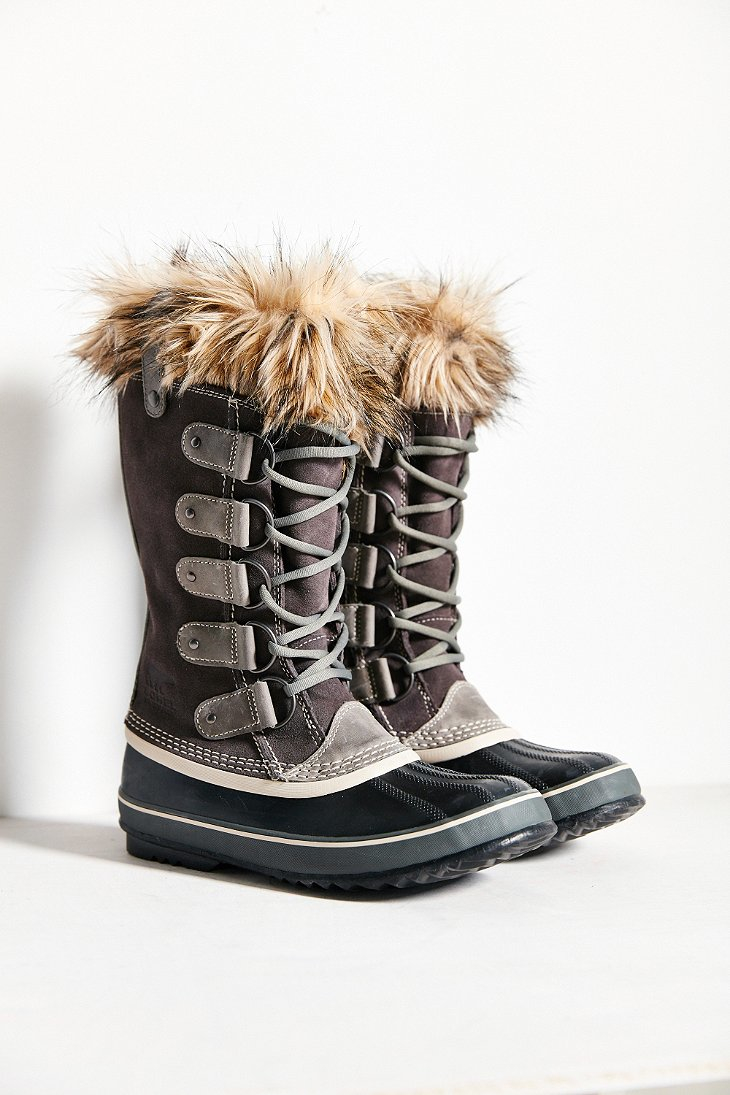 sorel joan of arctic boot in gray lyst. Black Bedroom Furniture Sets. Home Design Ideas