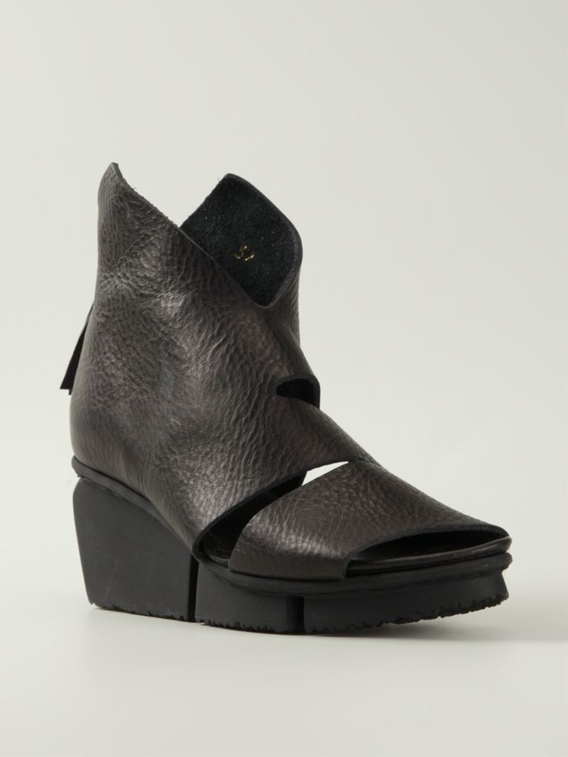 Trippen Wow Cutout Boots In Black Lyst