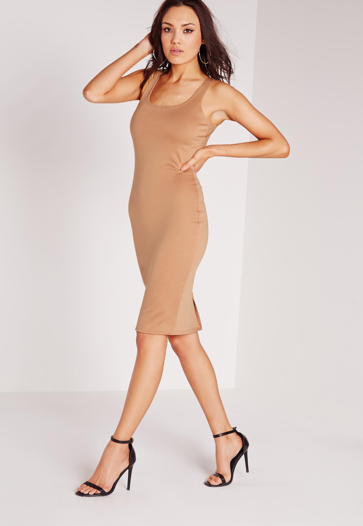 Nude Dresses | Beige & Camel Dresses - Missguided