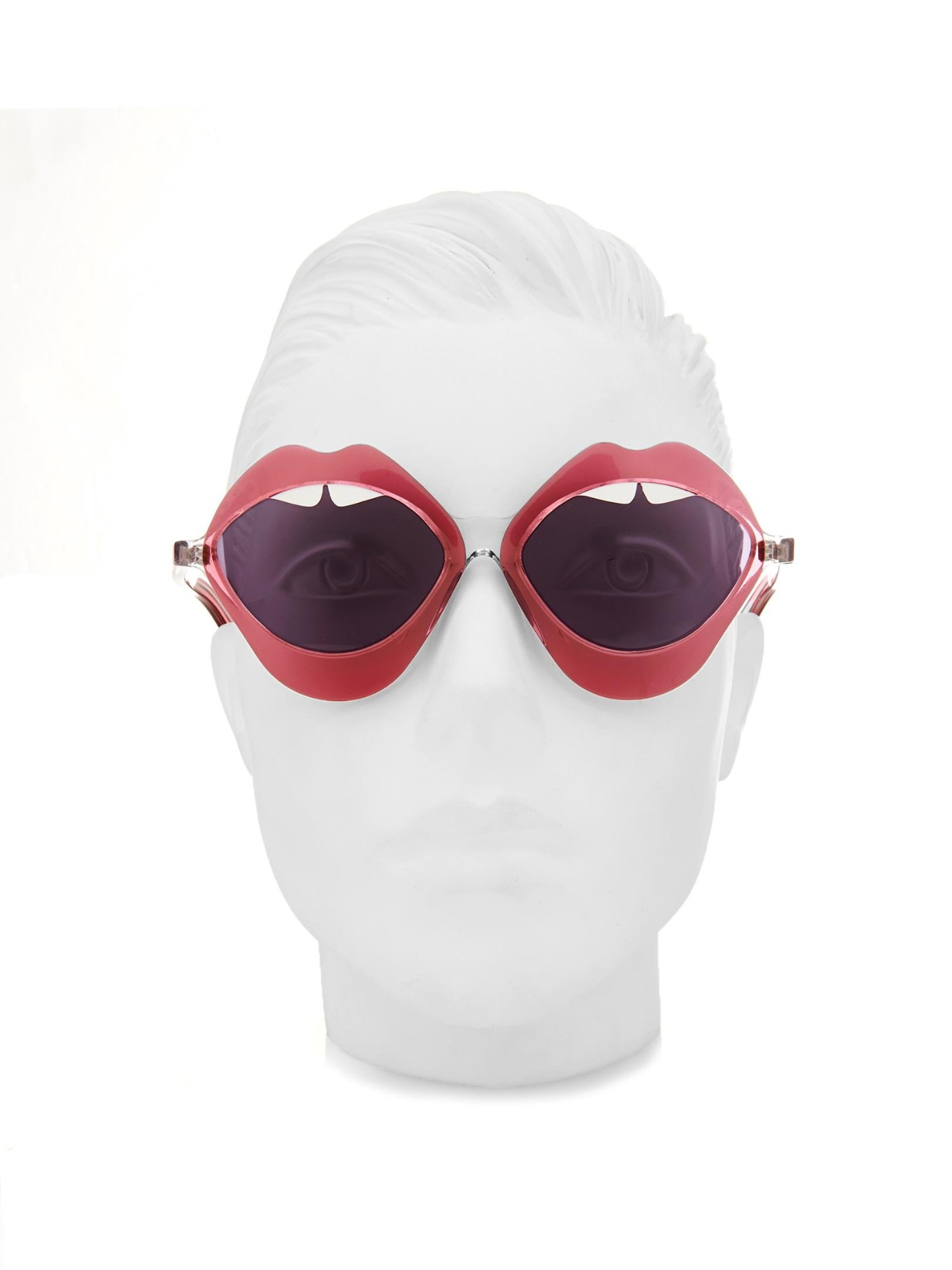 House of Holland Lippy Sunglasses in Pink