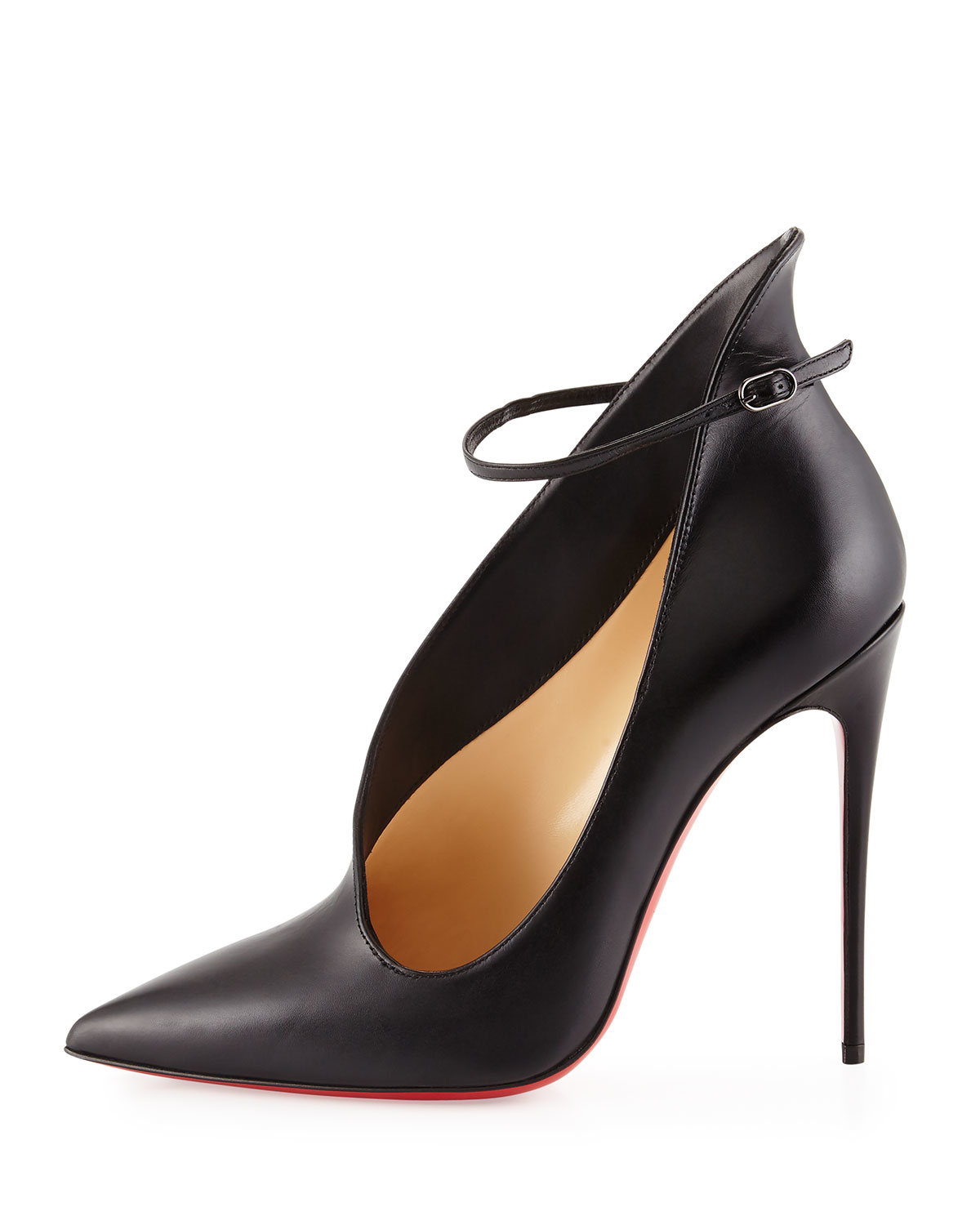 Christian Louboutin Suede Zip-Embellished Pumps discount for sale hhqB3