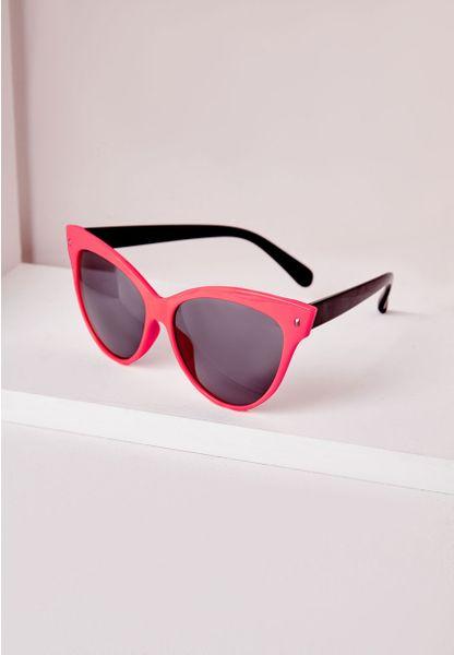 Pink Cat Eye Sunglasses Pink Cat Eye Sunglasses in