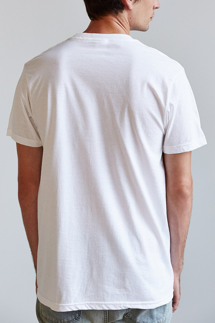 Urban Outfitters Lana Del Rey Bee Lips Tee In White For Men Lyst