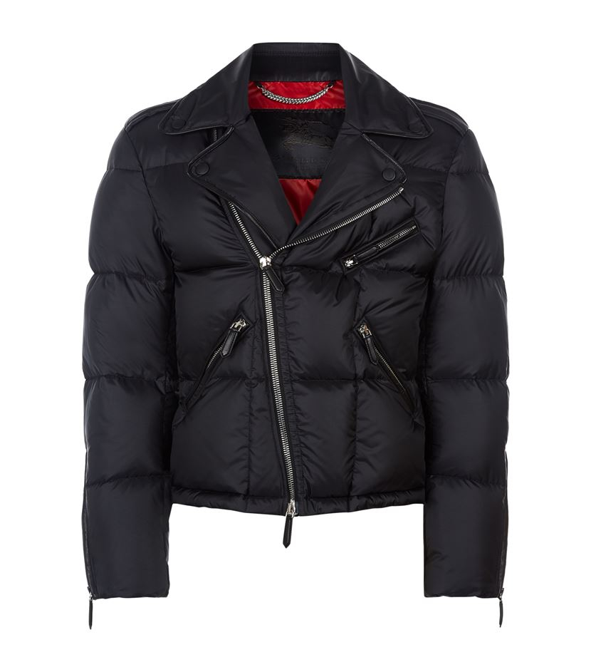 Burberry prorsum quilted leather jacket