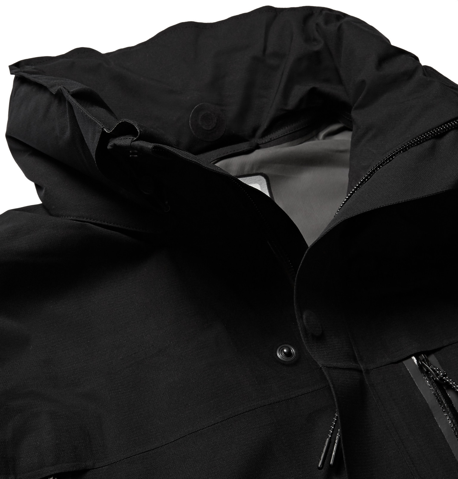 Nike Synthetic Lab Gore-tex® Hooded Jacket in Black for Men
