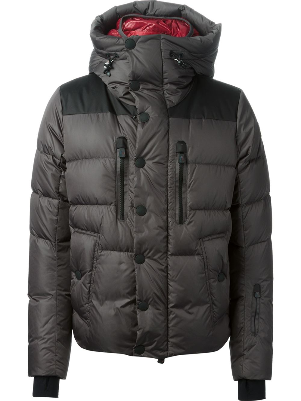 537fd4eb6 Moncler Grenoble Gray Rodenberg Padded Jacket for men