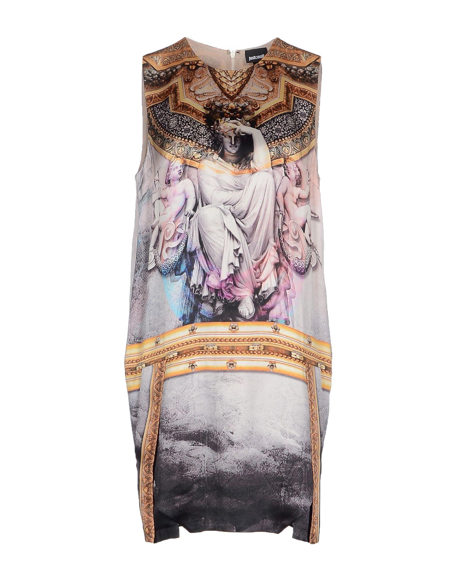 Lyst Just Cavalli Short Dress In Pink