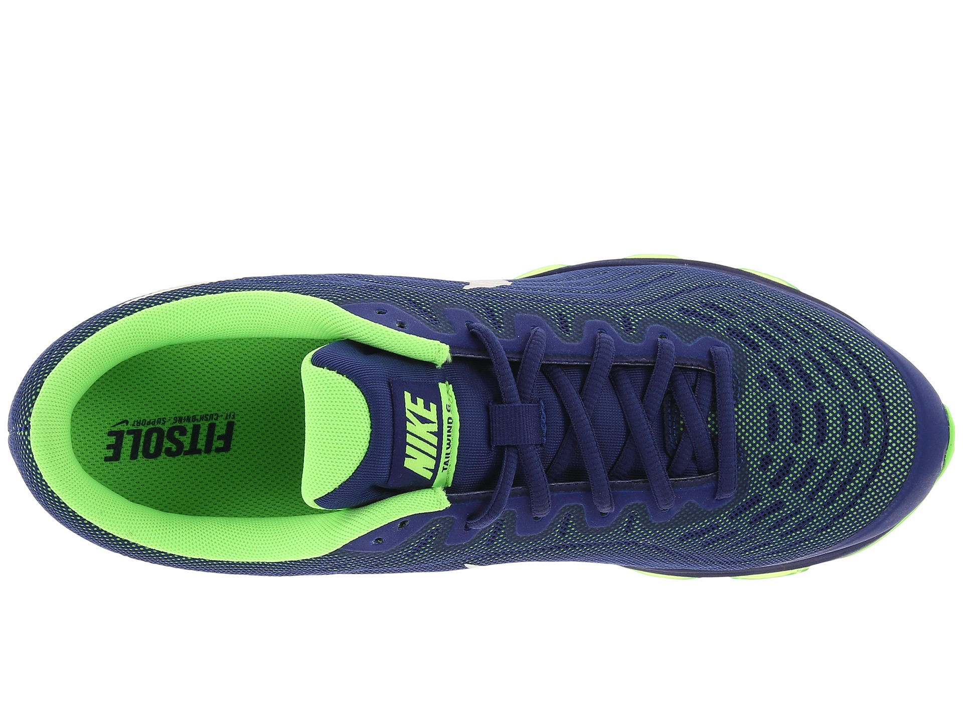 Lyst Nike Air Max Tailwind 6 In Blue For Men