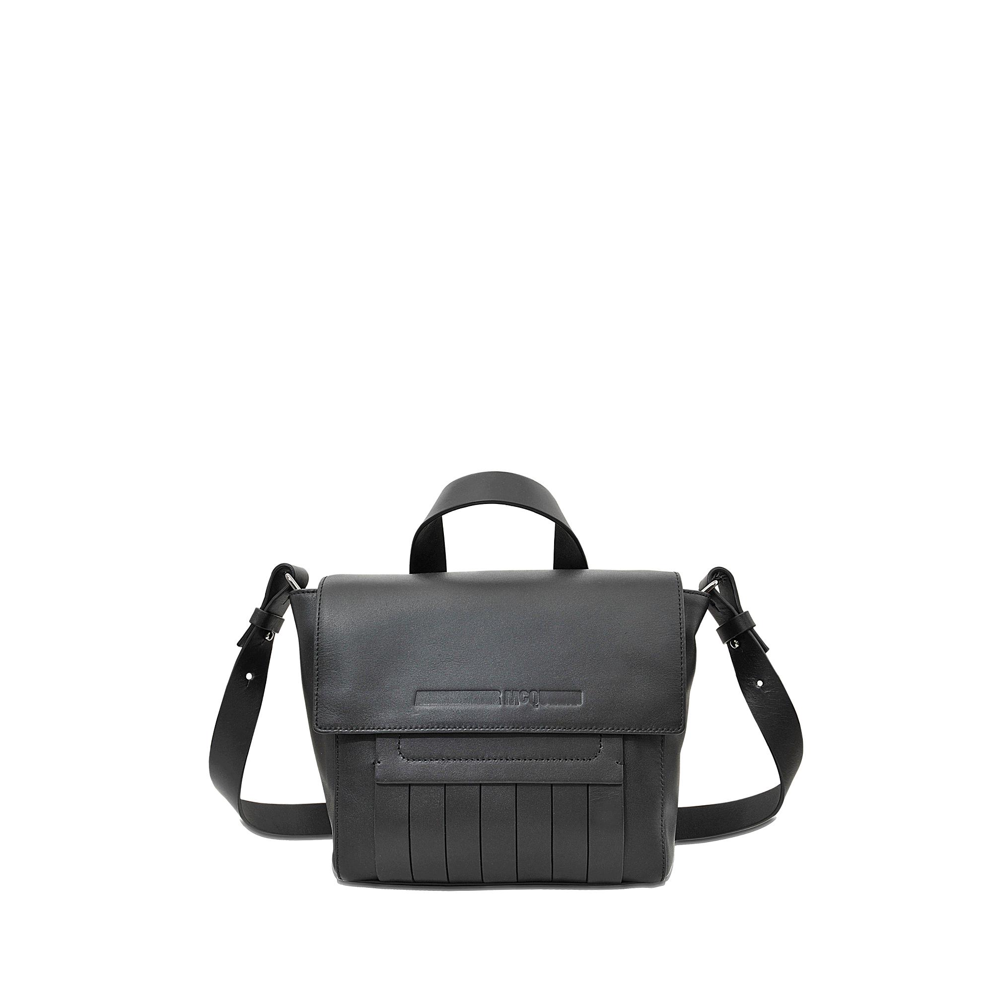 Mcq Mini Satchel Bag in Black | Lyst