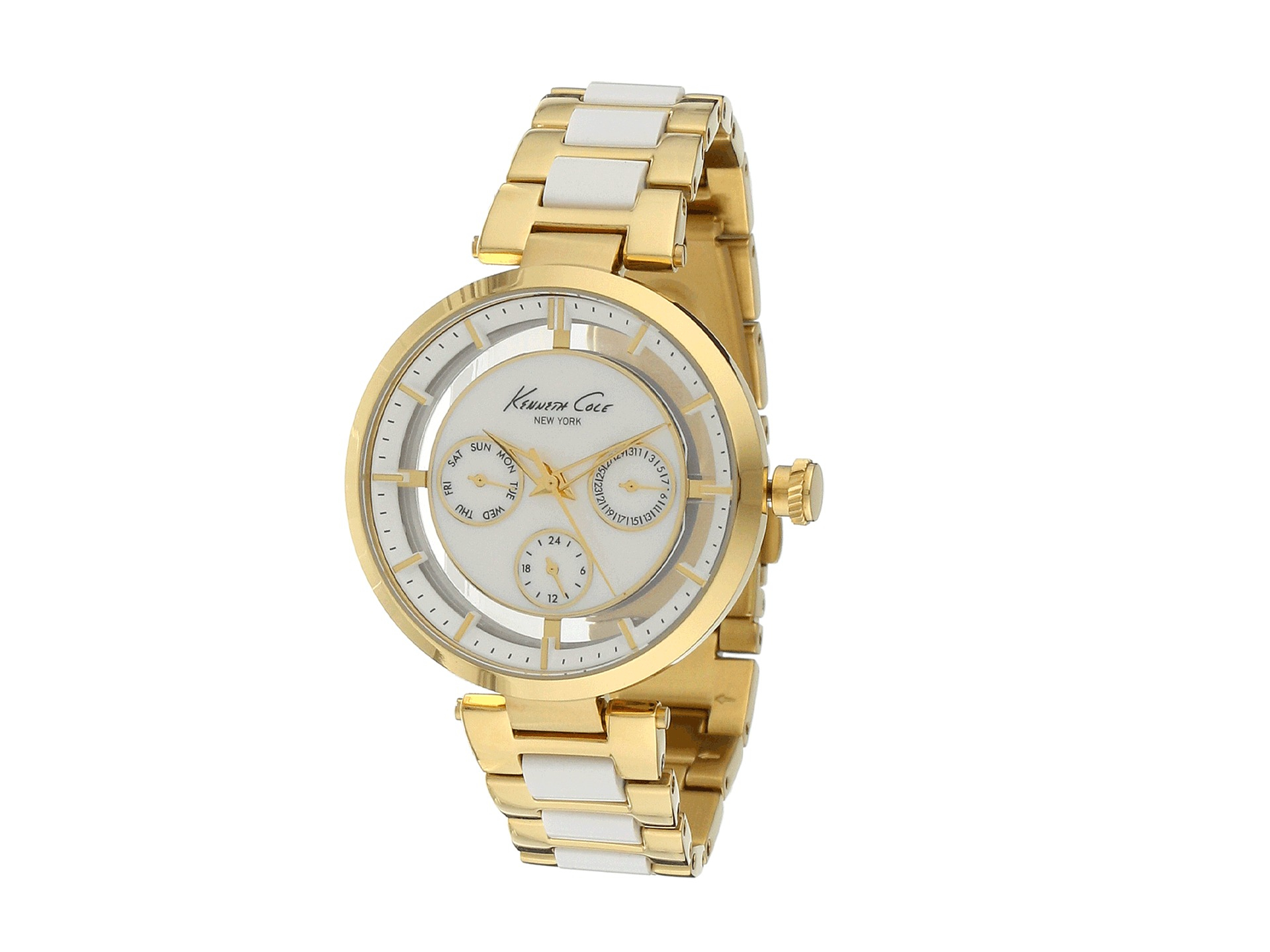 kenneth cole gold watches lyst
