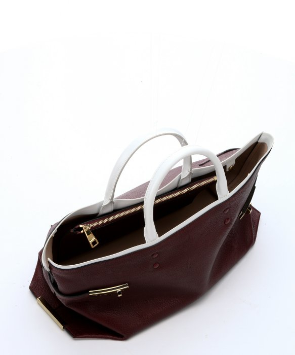 white chloe handbag - chloe grained leather large charlotte tote huskey white