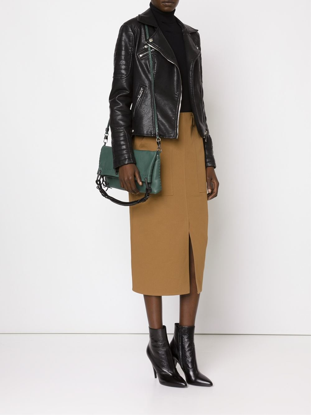 Henry Beguelin 'alma' Tote in Green