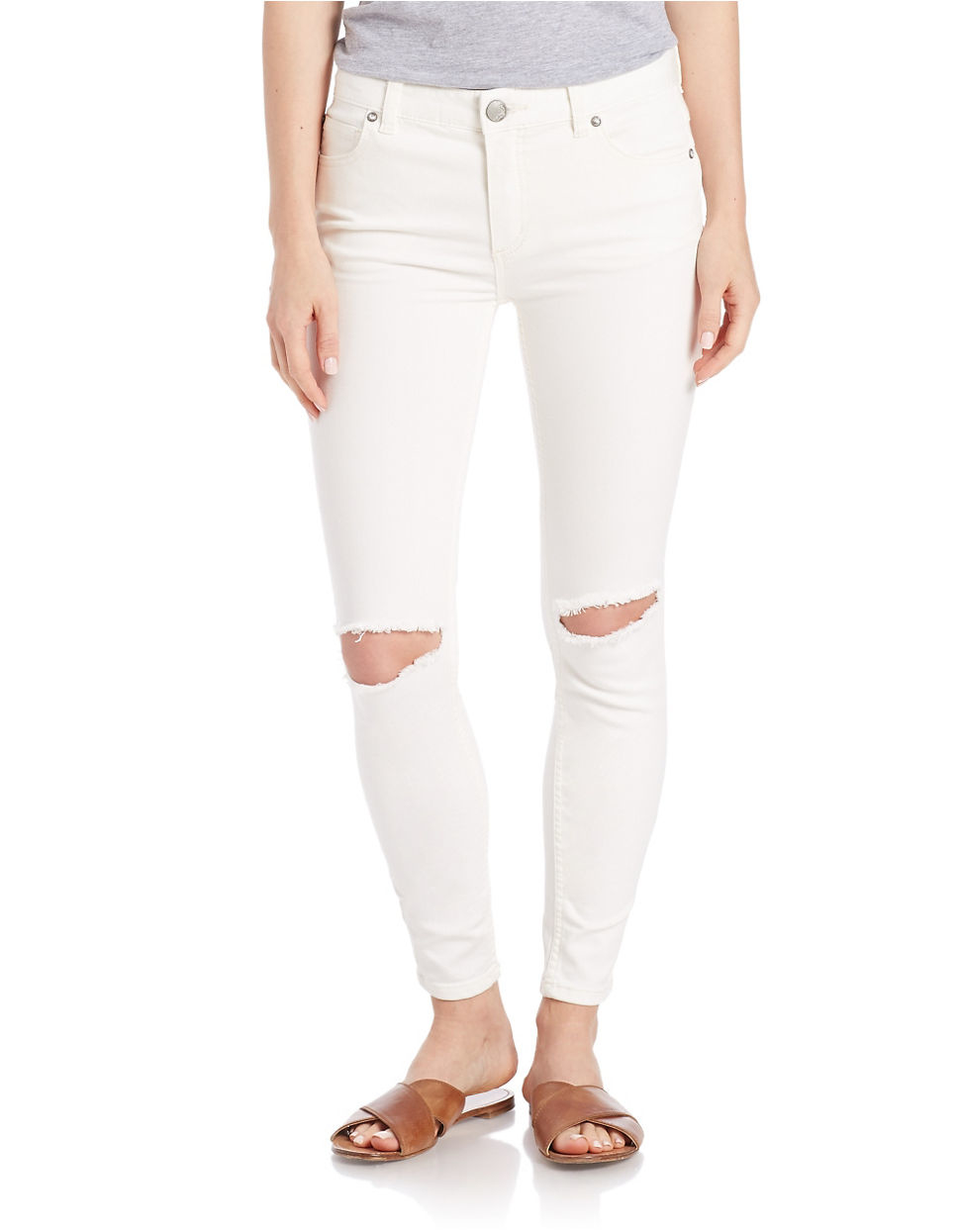 Find great deals on eBay for white distressed skinny jeans. Shop with confidence.