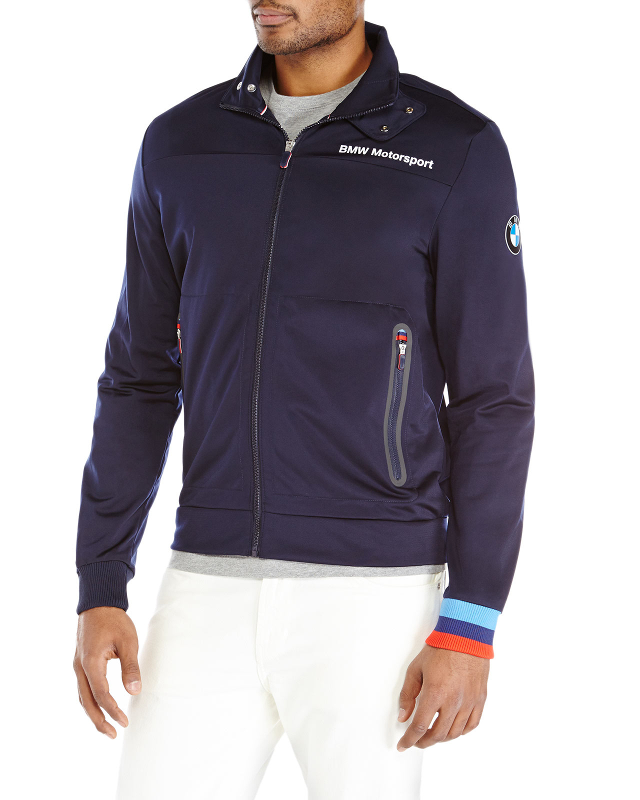 Navy Bmw Motorsport Track Jacket