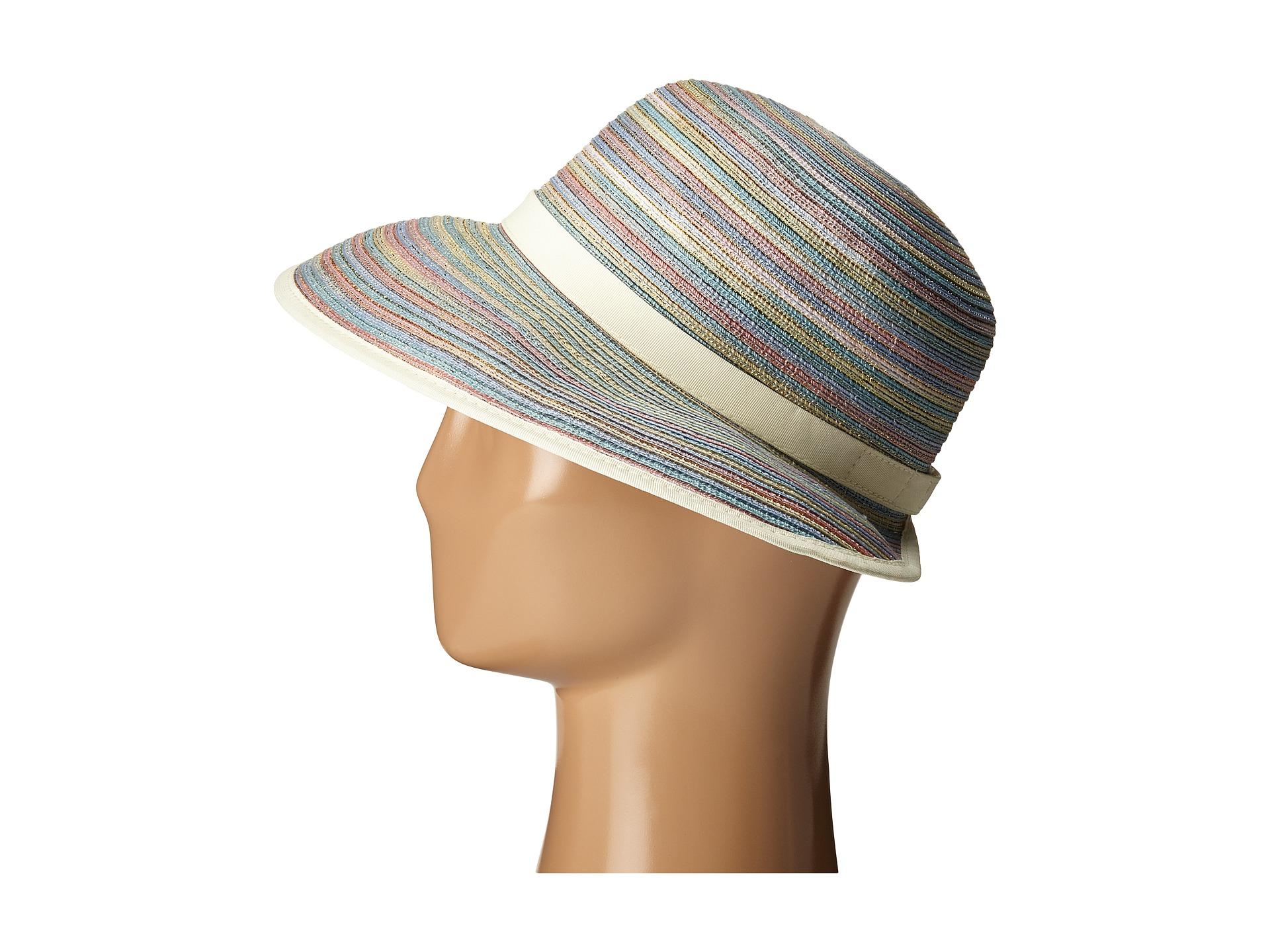 401b1b5a700e5 Lyst - San Diego Hat Company Mxm1020 4 Inch Brim Sun Hat With Face ...