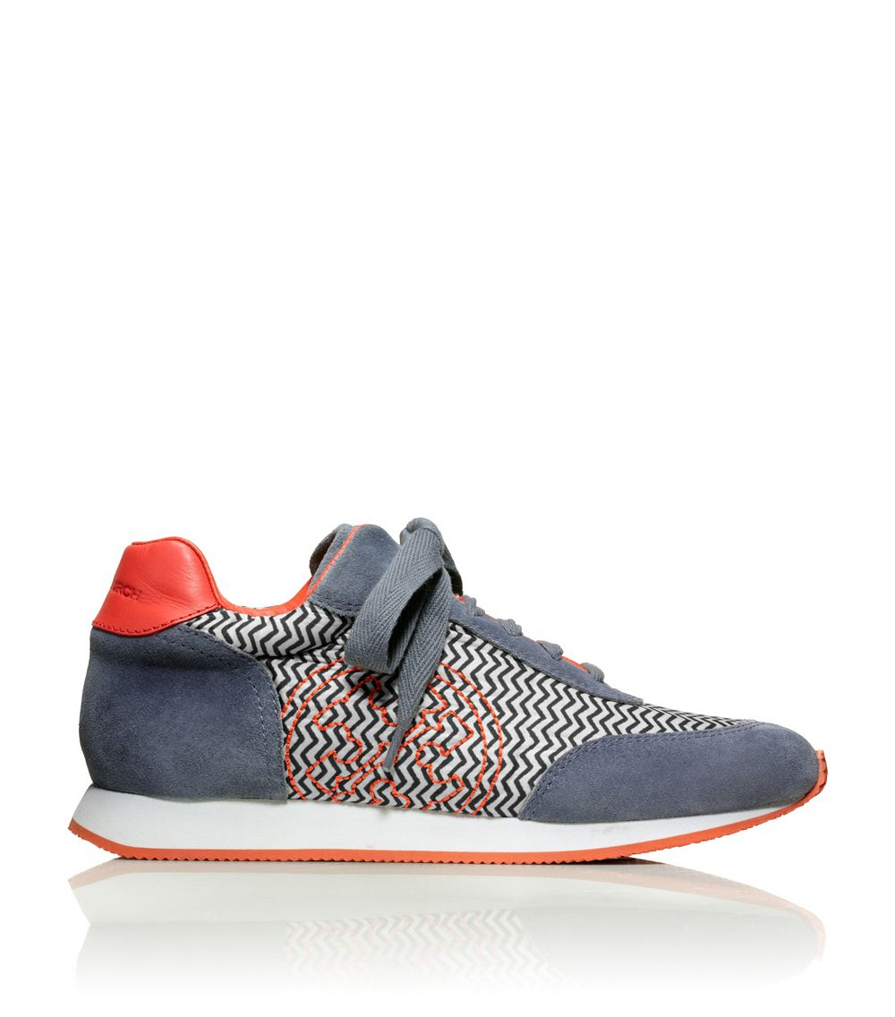 discount hot sale sale finishline Tory Burch Delancy Printed Sneakers discount nicekicks buy cheap lowest price oPGZ3OV
