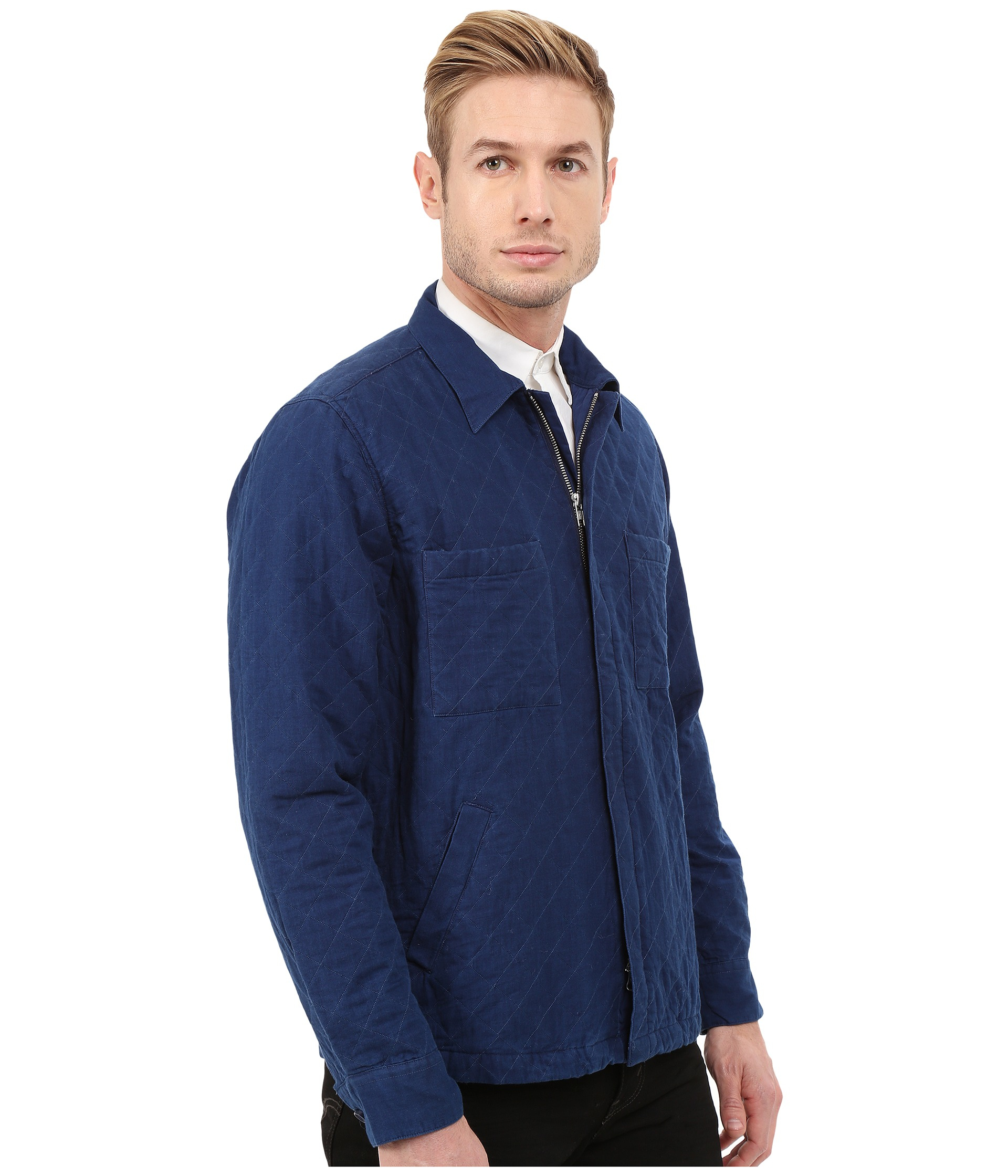 Gant rugger R. Indigo Twill Shirt Jacket in Blue for Men | Lyst