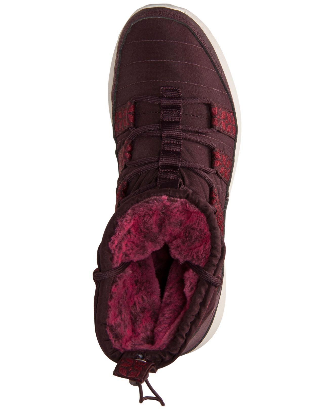 67f79942c1c85 Lyst - Nike Women S Roshe Run Hi Sneakerboots From Finish Line in Purple