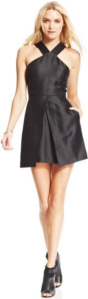 Rachel Rachel Roy Aline Dress in Black - Lyst