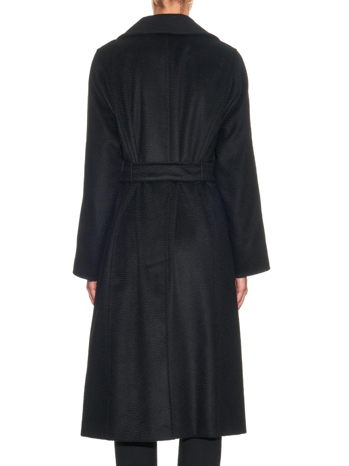 f997eace249b Lyst - Max Mara Manuela Coat in Black