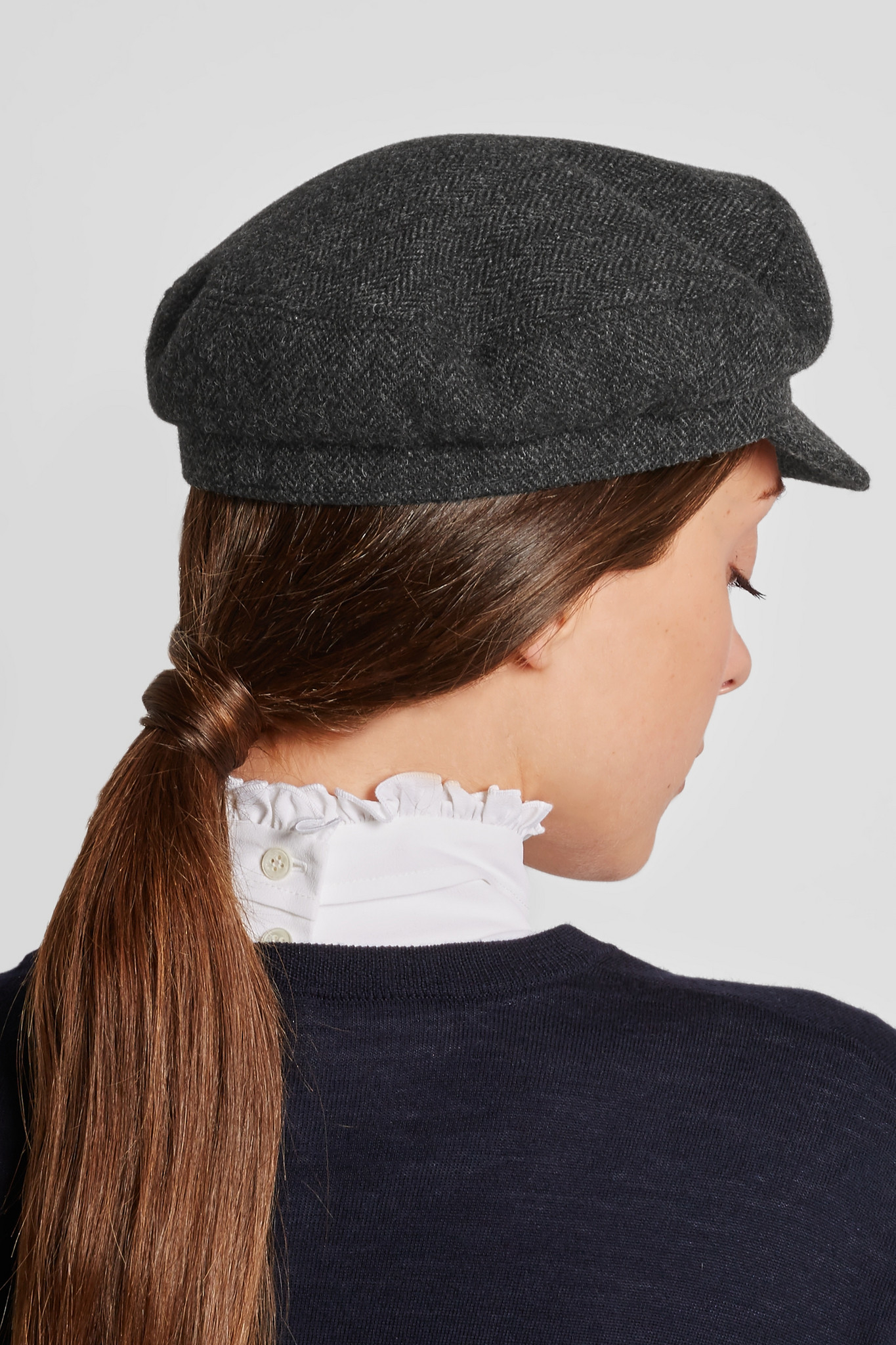 29712304f07 Étoile Isabel Marant Evie Flanelle Hat in Gray - Lyst