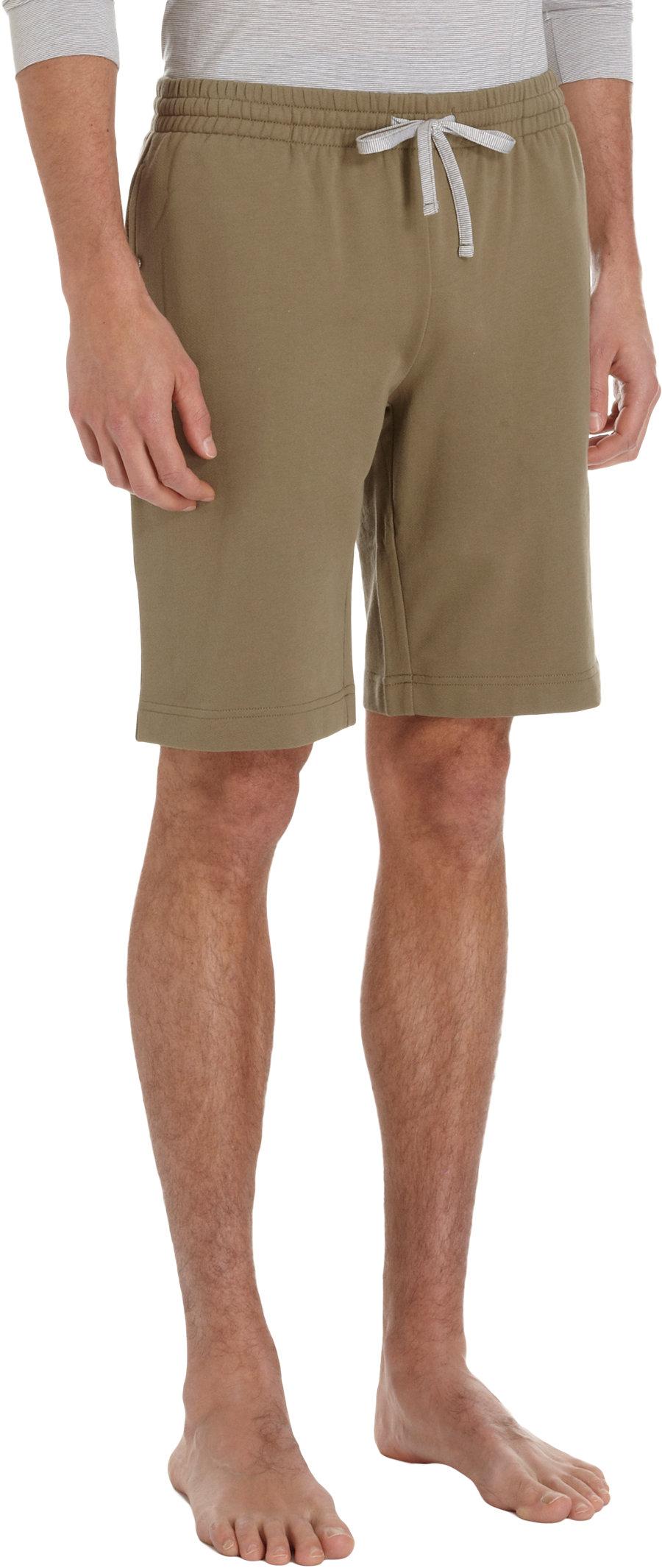 Nero perla Drawstring Sweat Shorts in Green for Men | Lyst