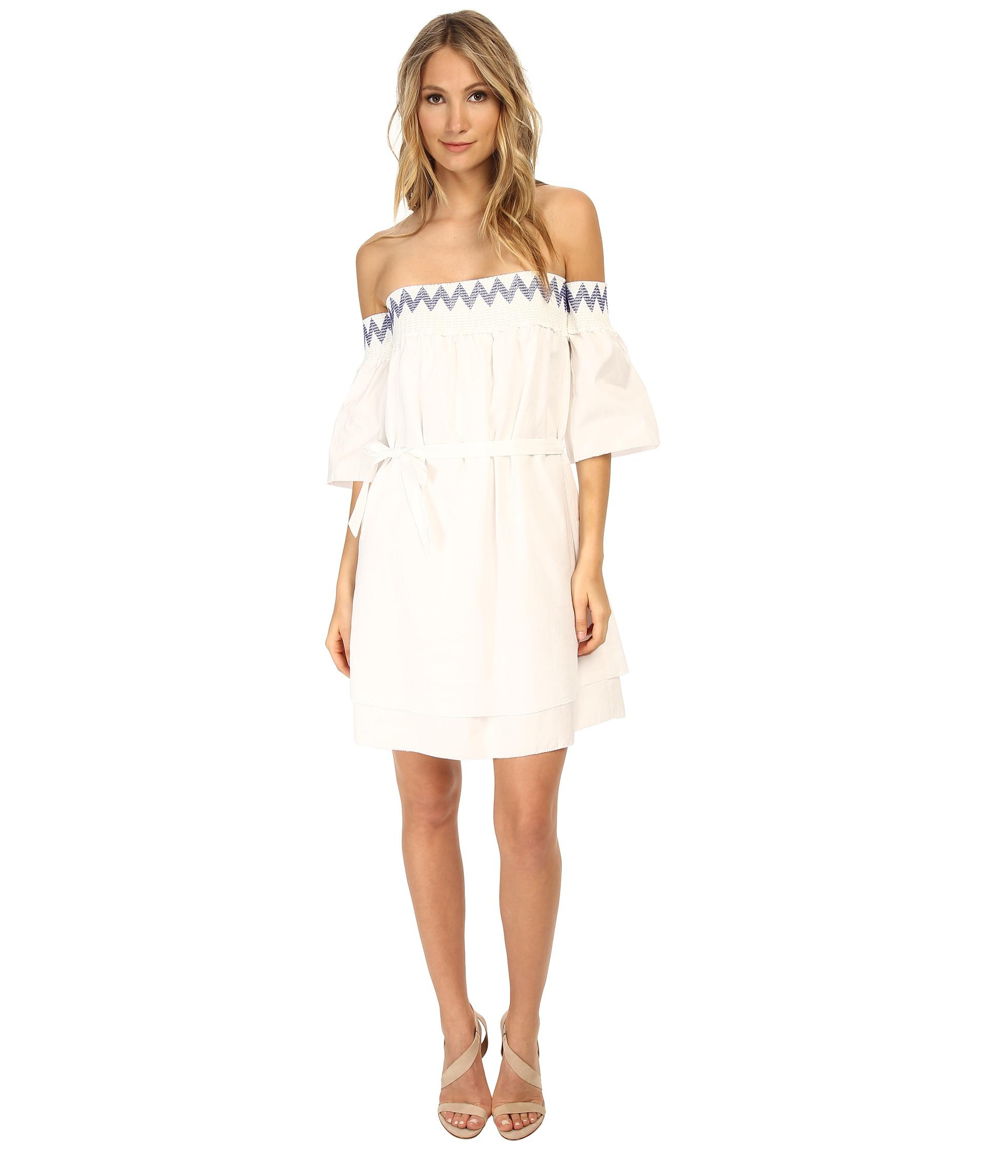 Cleo S Clothing: Rebecca Minkoff Cleo Dress In White
