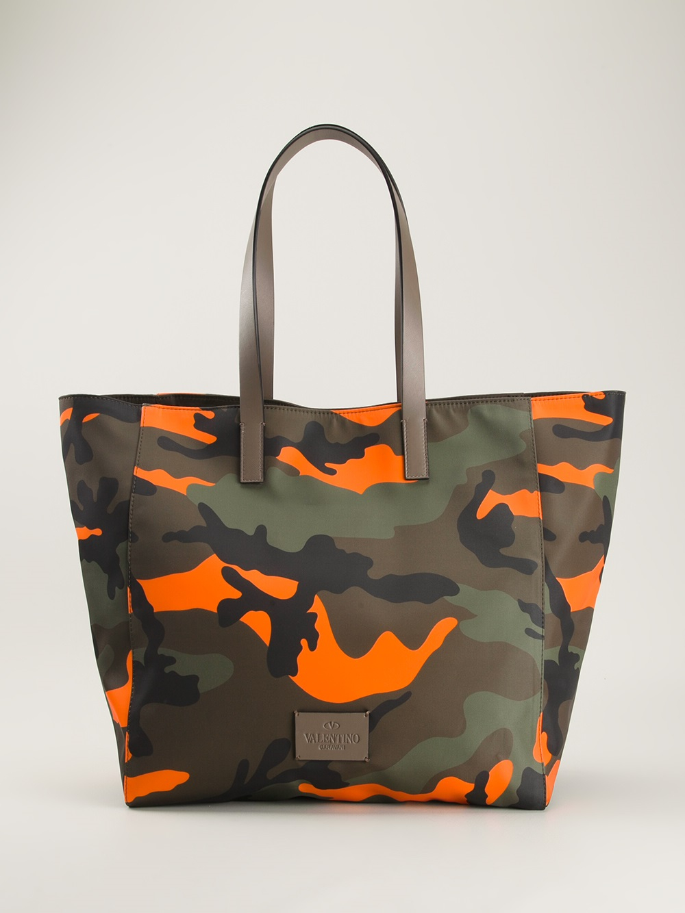 Lyst Valentino Camouflage Tote In Green For Men