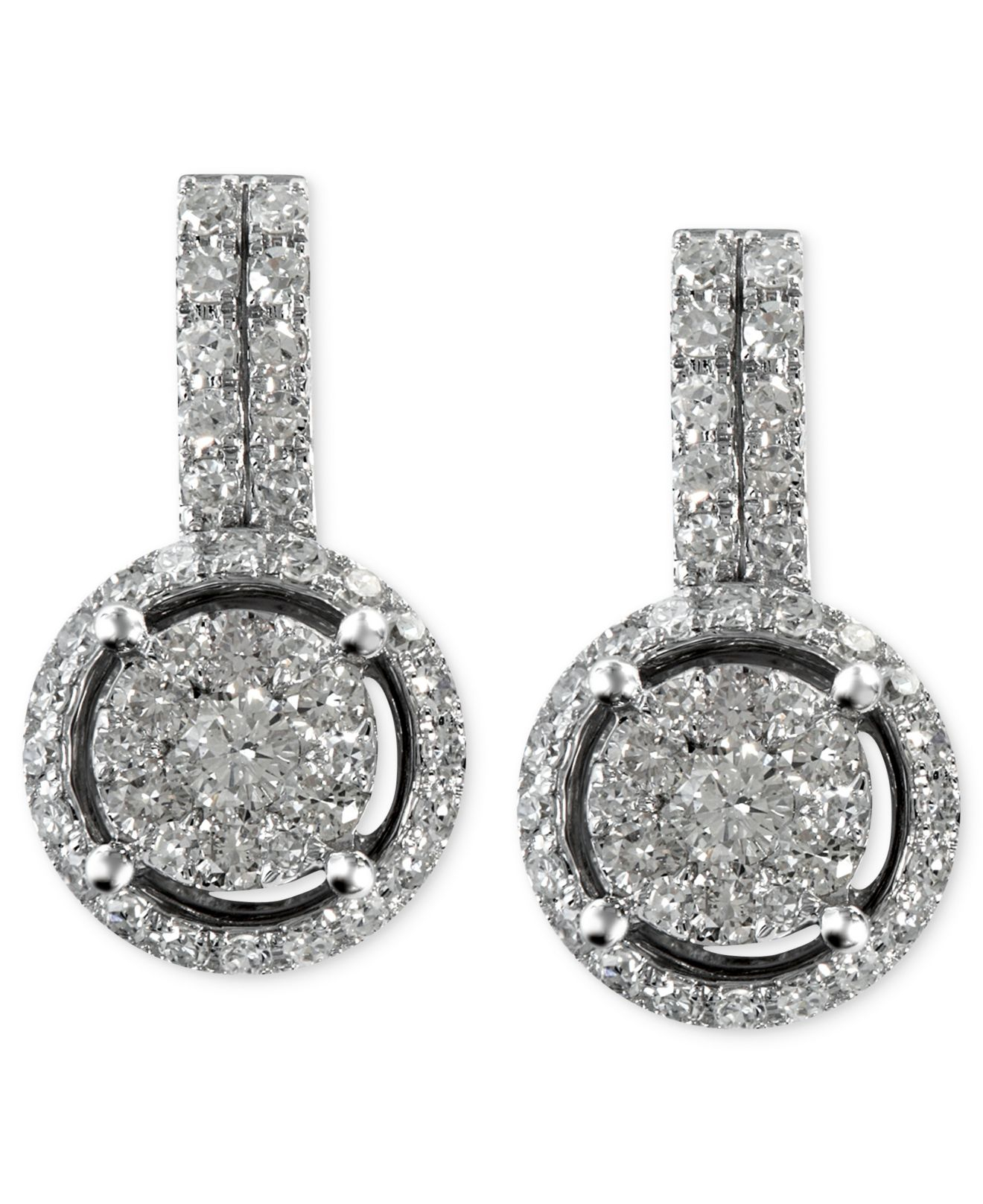 Effy Collection Bouquet By Diamond Circle Cer Earrings 1