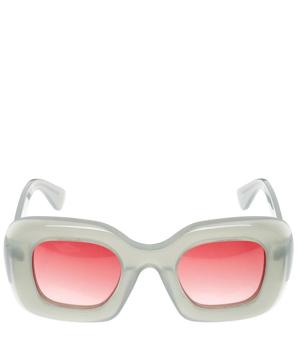 Jonathan Saunders Green Nika Sunglasses