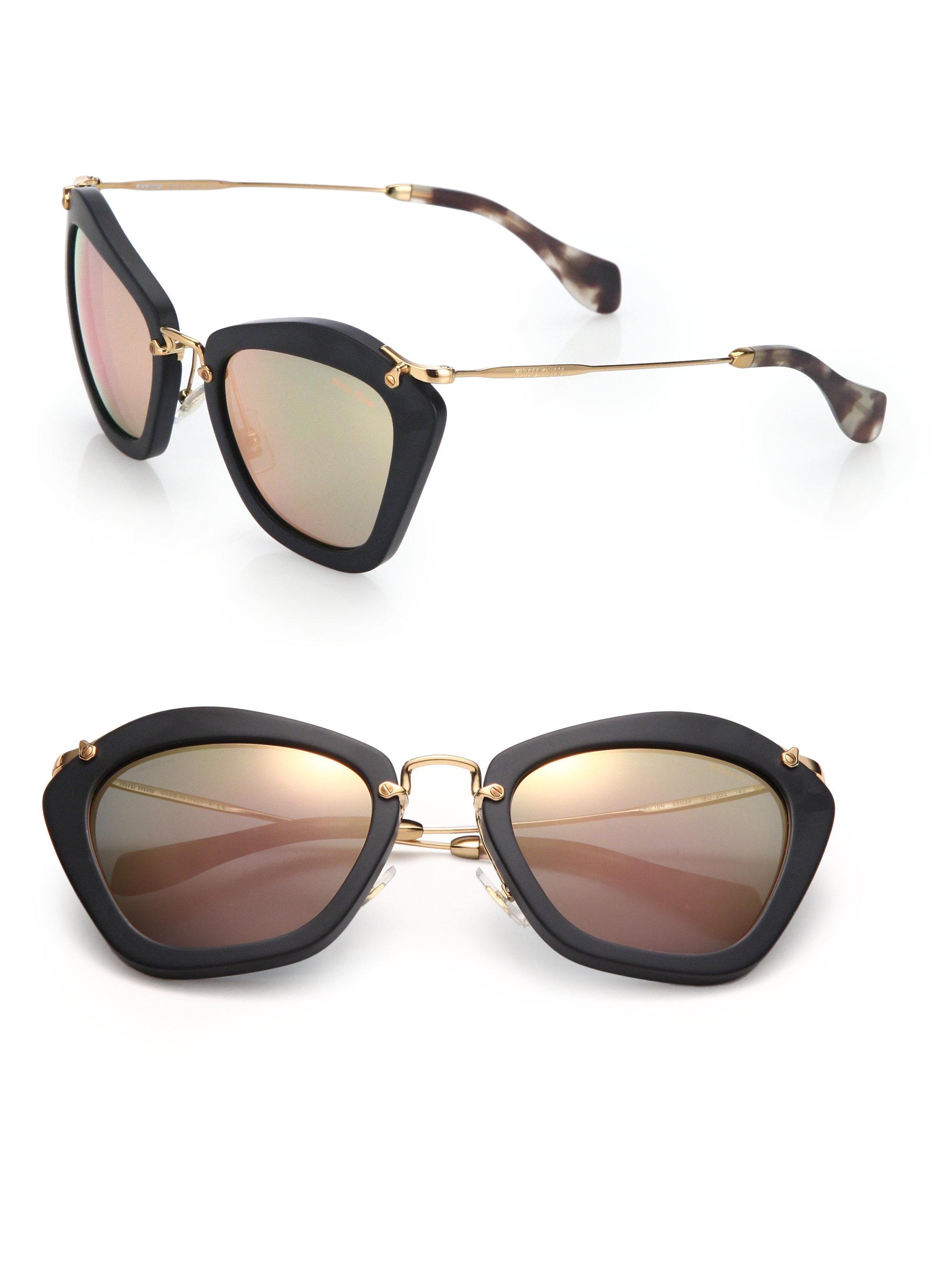 Miu Miu Cat Eye Sunglasses Pink   Louisiana Bucket Brigade 09cd05a074