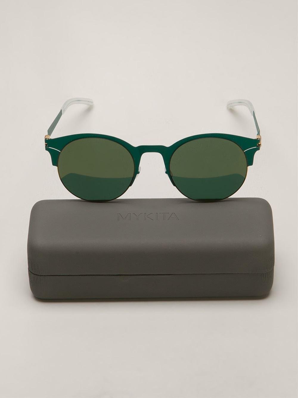 Mykita Lianne Sunglasses in Green for Men