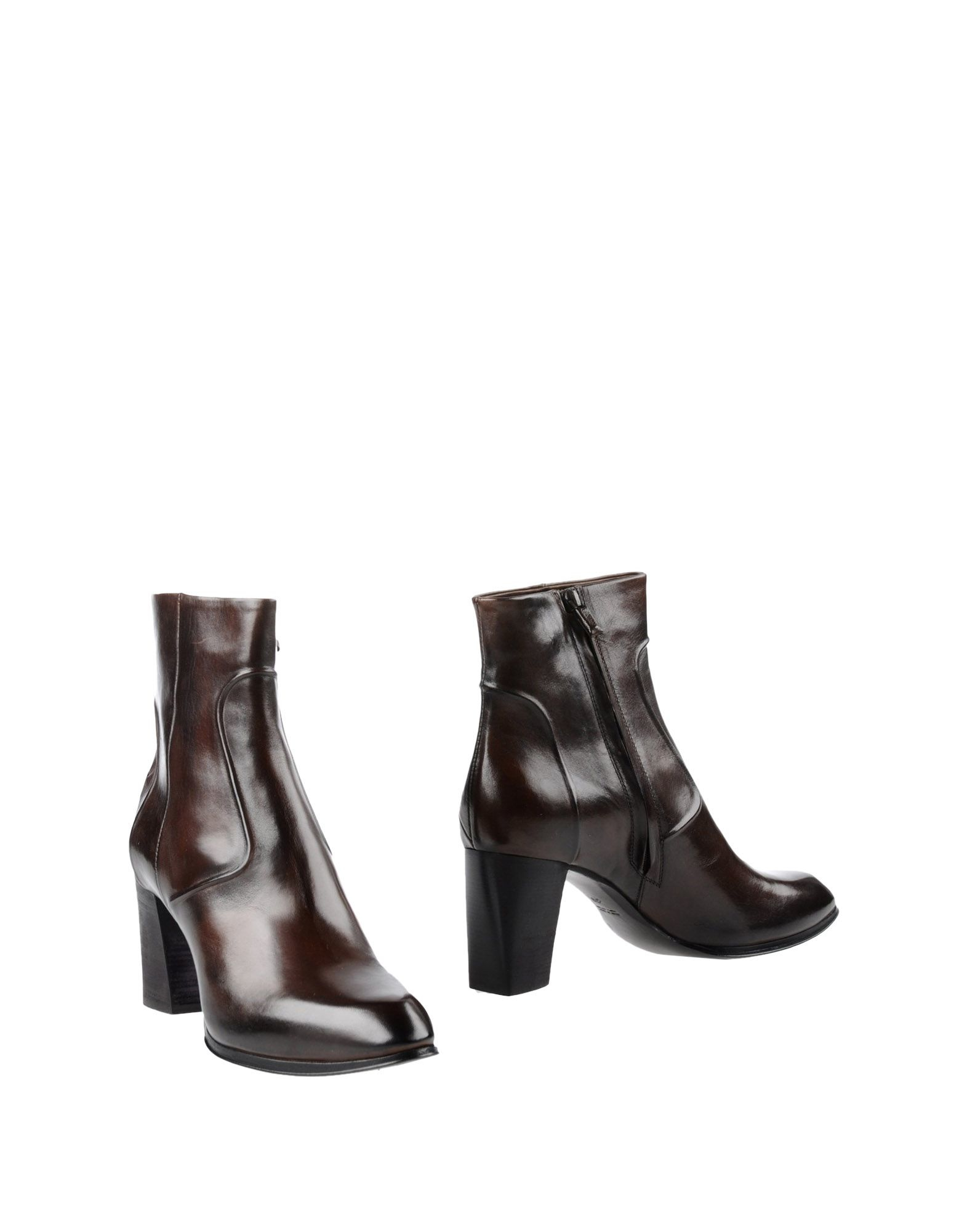 costume national ankle boots in brown brown lyst