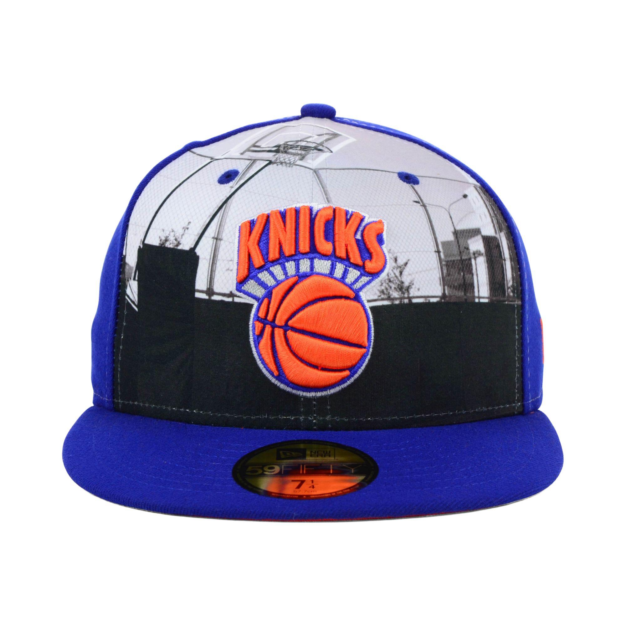 f312768d6c3 Lyst - Ktz New York Knicks Nba Hardwood Classics 59fifty Cap in Blue ...
