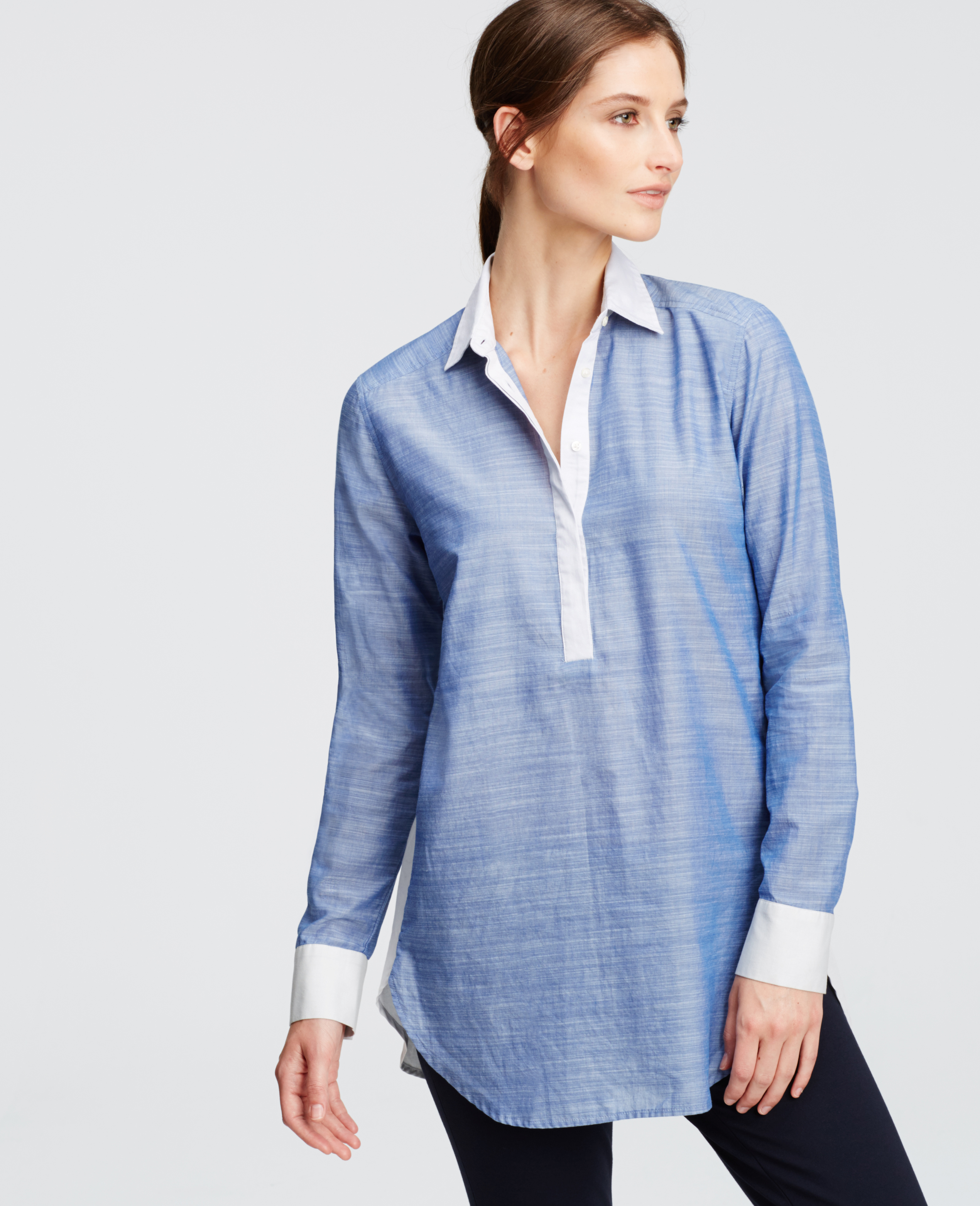 Shop Madewell for Women's Chambray & Denim and see our entire selection of Workshirts & Boyshirts. Free Shipping and free returns for Madewell Insiders. Madewell! Skip to Main Content Chambray Classic Ex-Boyfriend Shirt in Mazzy Wash $ Central Shirt in Roberta Indigo $ Denim Western Shirt $ Top Rated Denim Short-Sleeve.