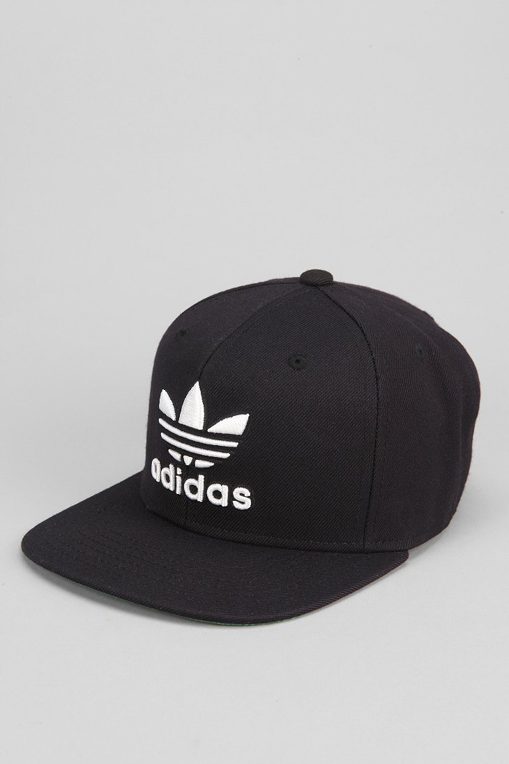 205f546c ... denmark lyst adidas originals thrasher classic snapback hat in black  for men f12cc 2018b