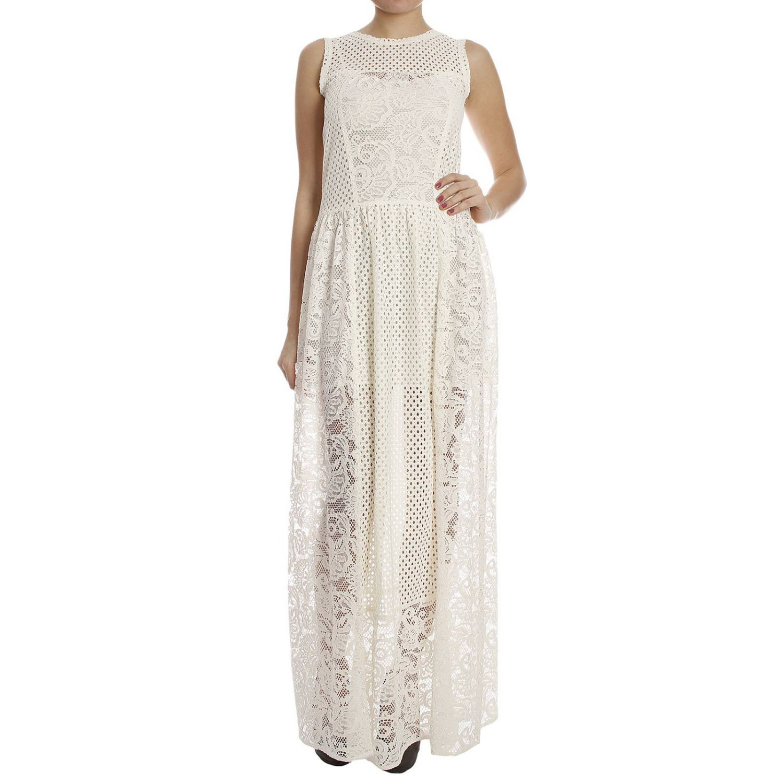Lyst - Pinko Women s Dress in White c399ef751c9