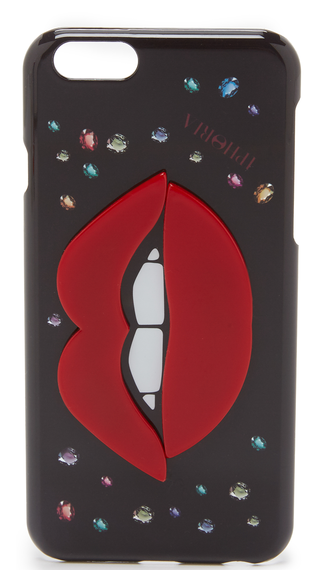 lyst iphoria jewel lips iphone 6 6s case. Black Bedroom Furniture Sets. Home Design Ideas