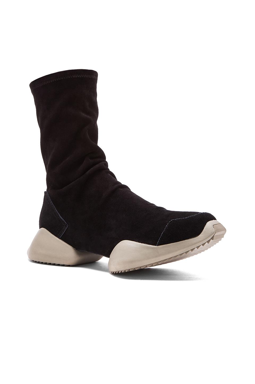 Rick Owens Ro Runner Ankle Boot In Black For Men Lyst