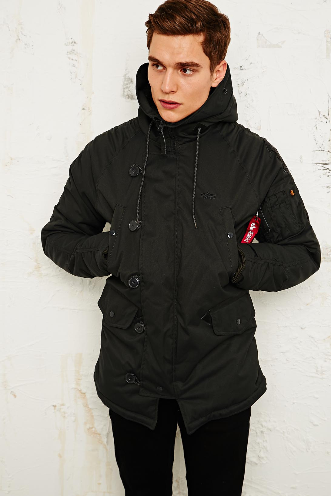 Urban Outfitters Alpha Industries Explorer Parka Jacket In