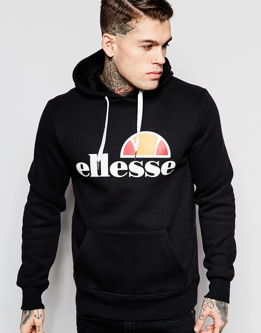 74c077b49f Ellesse Hoodie With Classic Logo - Black for men