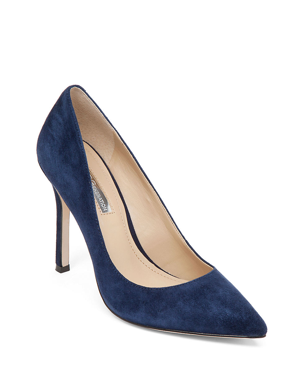 a5f130822d405 BCBGeneration Treasure Suede Pumps in Blue - Lyst