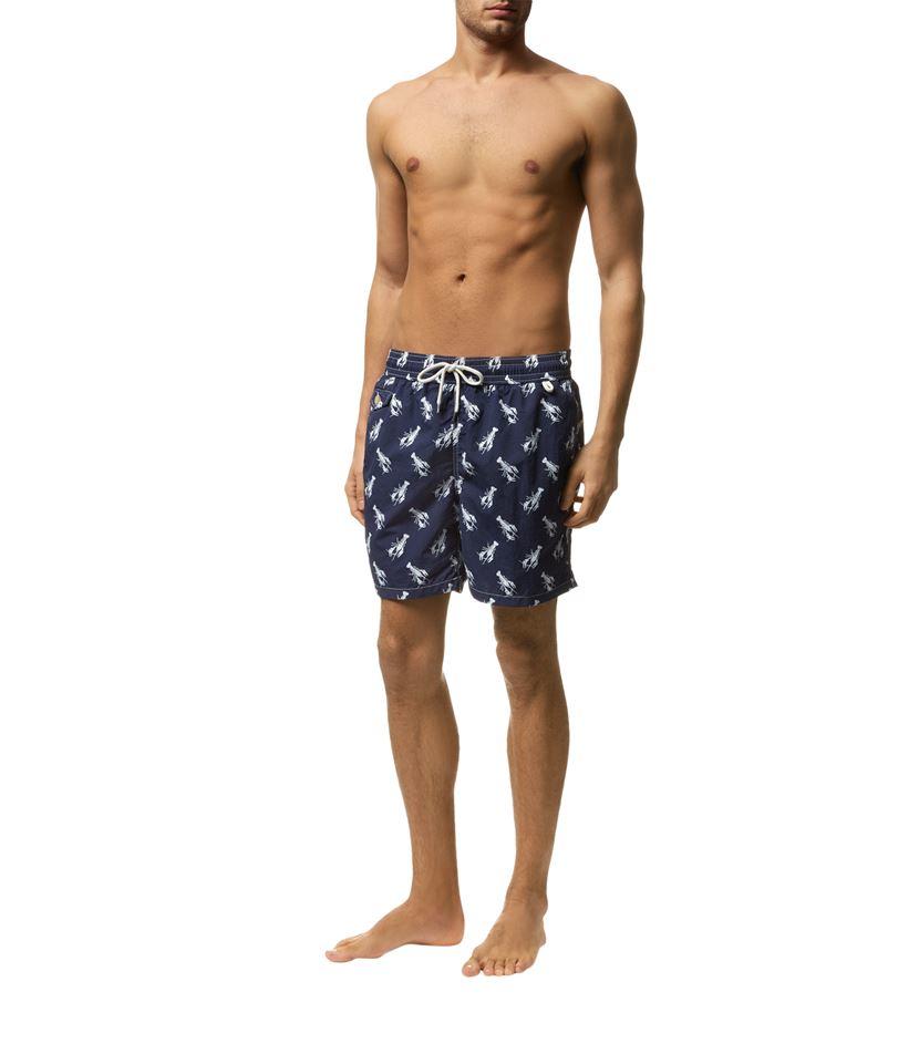 ... usa polo ralph lauren lobster swim shorts in blue for men lyst 26063  9b5ca 2ff40aa071d2