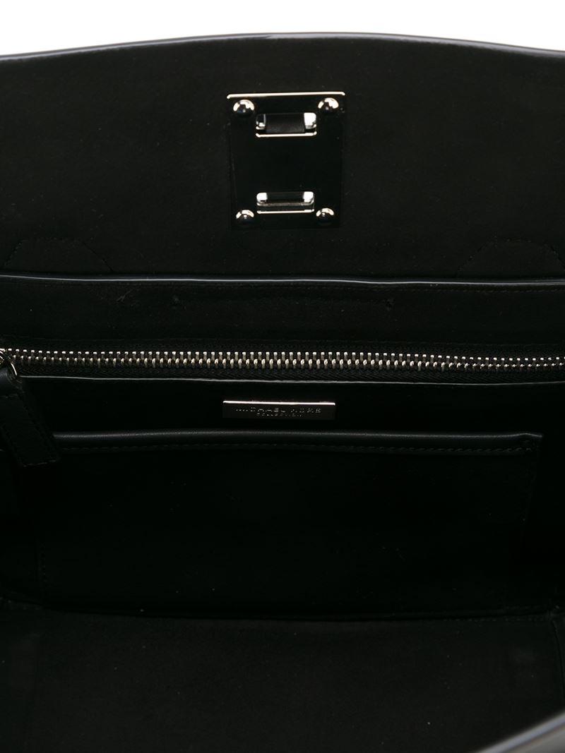 Michael Kors Small 'miranda' Tote in Black