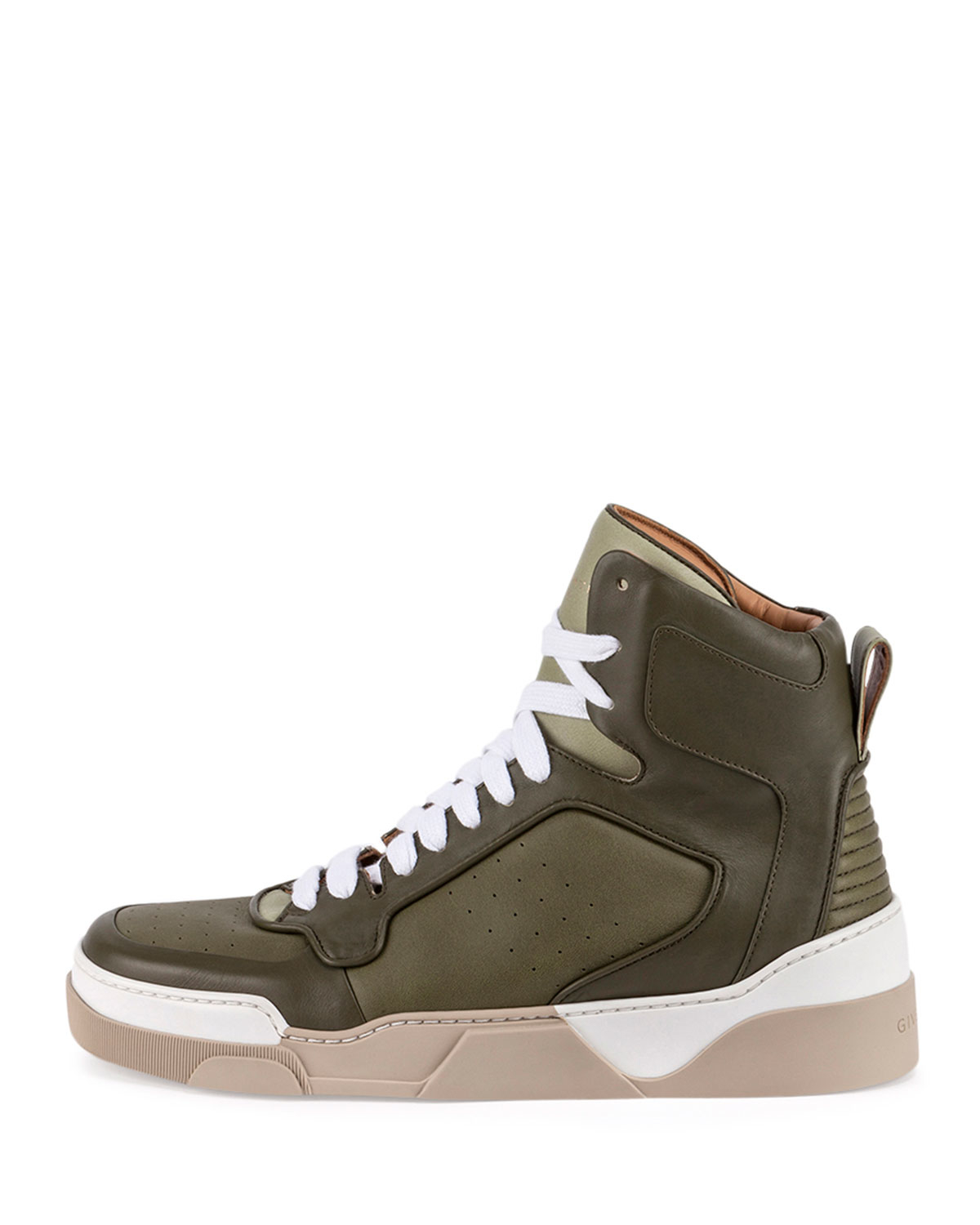 Givenchy Tyson Leather High-top Sneaker