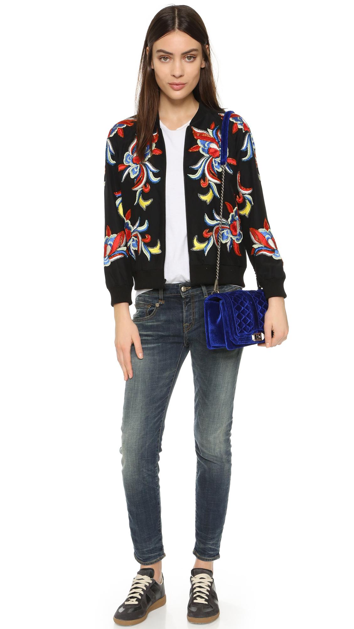 9933d71aa Rebecca Minkoff Velvet Love Cross Body Bag - Sapphire in Blue - Lyst