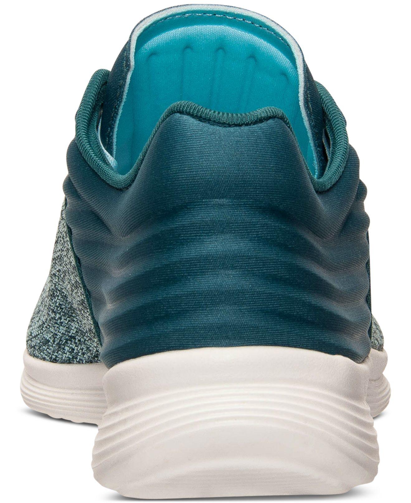 740a666c3a5 Lyst - Reebok Women s Skyscape Fuse Walking Sneakers From Finish ...