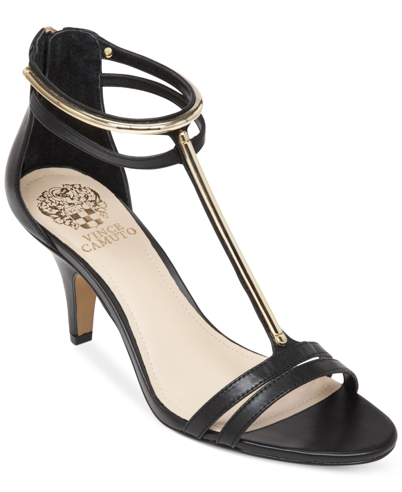 Lyst Vince Camuto Mitzy Dress Sandals In Black