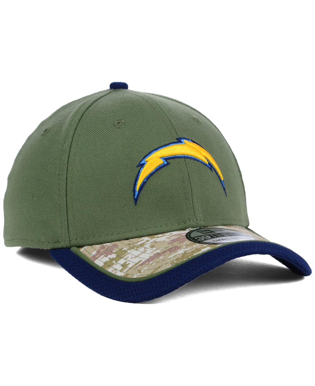 San Diego Chargers Cap: Ktz San Diego Chargers Salute To Service 39thirty Cap In